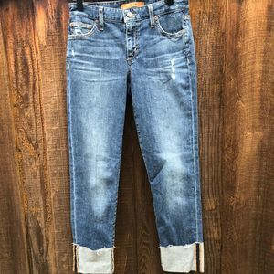 "Joe's ""The Smith""  Mid Rise Distress Jeans"